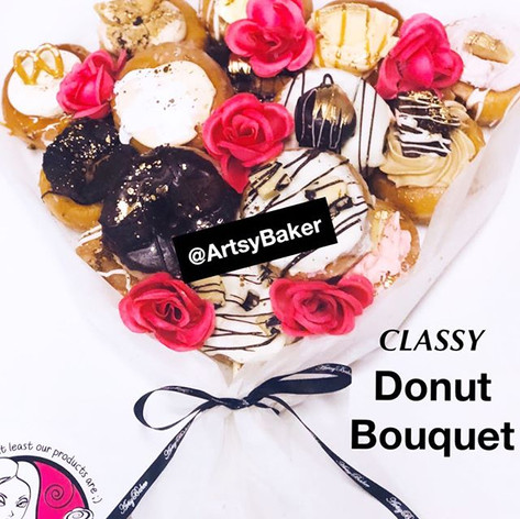 Classy Donut Bouquet