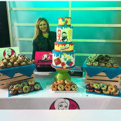Easter Seals Cake and Donuts