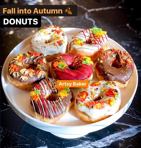 Fall into Autumn Donuts