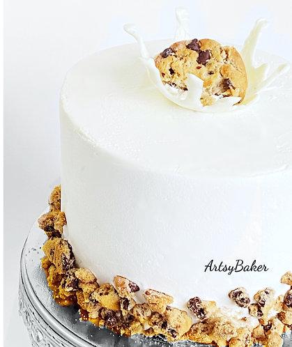 Milk n' Cookies Cake