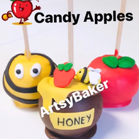 Apples and Honey Candy Apples