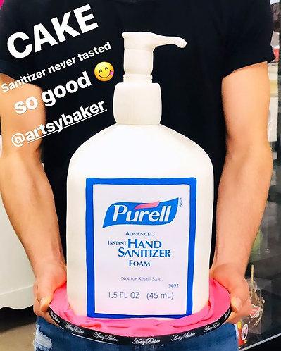 Purell Sanitizer Cake