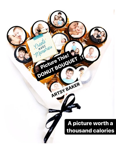 Picture This! Donut Bouquet