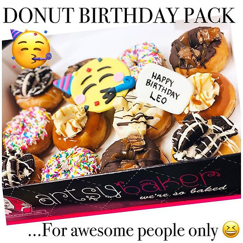 Donut Birthday Pack