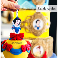 Snow White Candy Apple