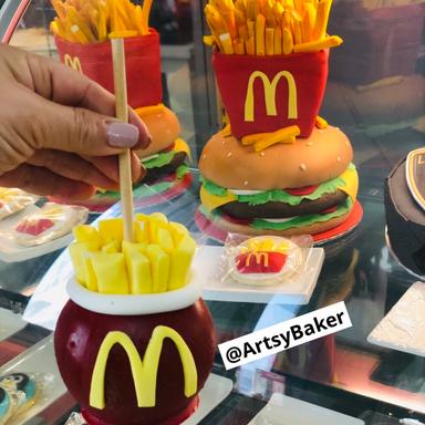 McDonalds Candy Apple