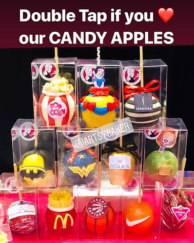Themed Candy Apples