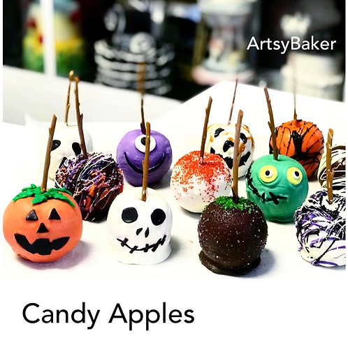 Halloween Candy Apples - pack of 6