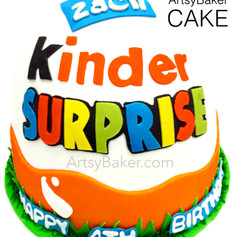 Kinder Egg Cake