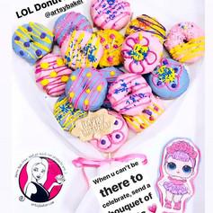 LOL Themed Donut Bouquet