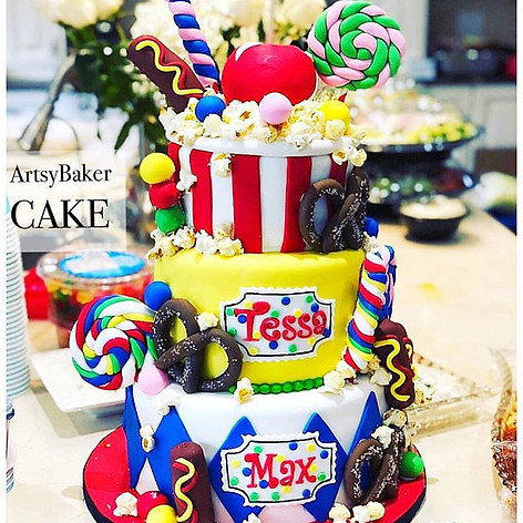 Movie Theater Snack Cake