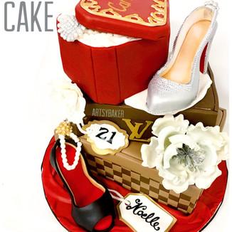 Designer Brands Cake