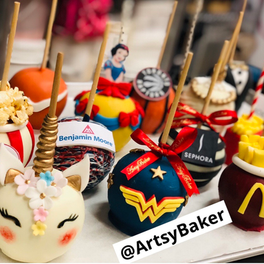 Novelty Candy Apples