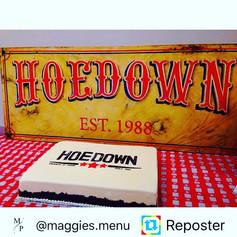 Hoedown Cake