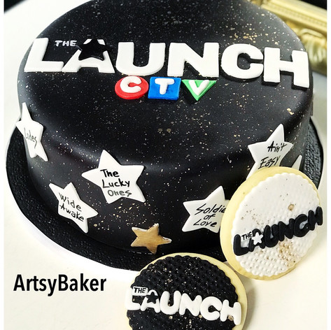 The Launch Cake