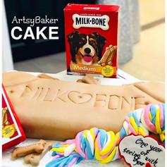 Milkbone Cake