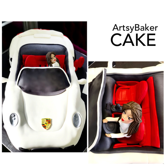 Luxuary Sports Car Cake