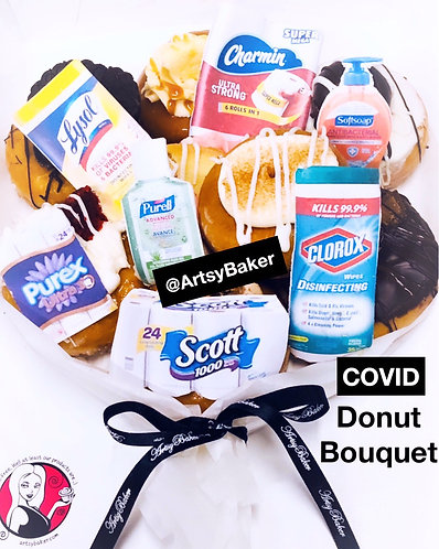 Covid Donut Bouquet