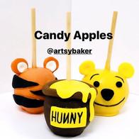 Winnie Pooh Candy Apples