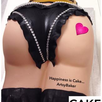 Female Body Cake
