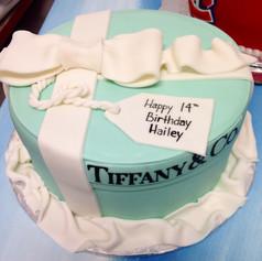 Tiffany & Co cake