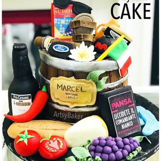 Everything Italian Cake
