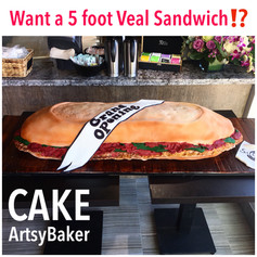 Veal Sandwich Cake