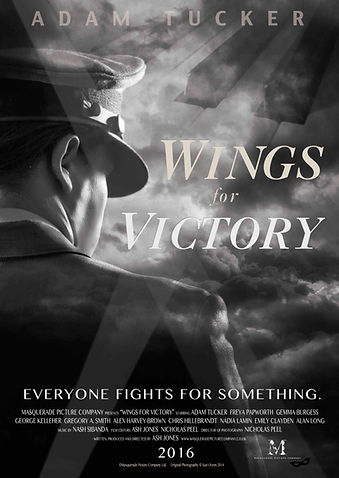 Wings for Victory Production Poster