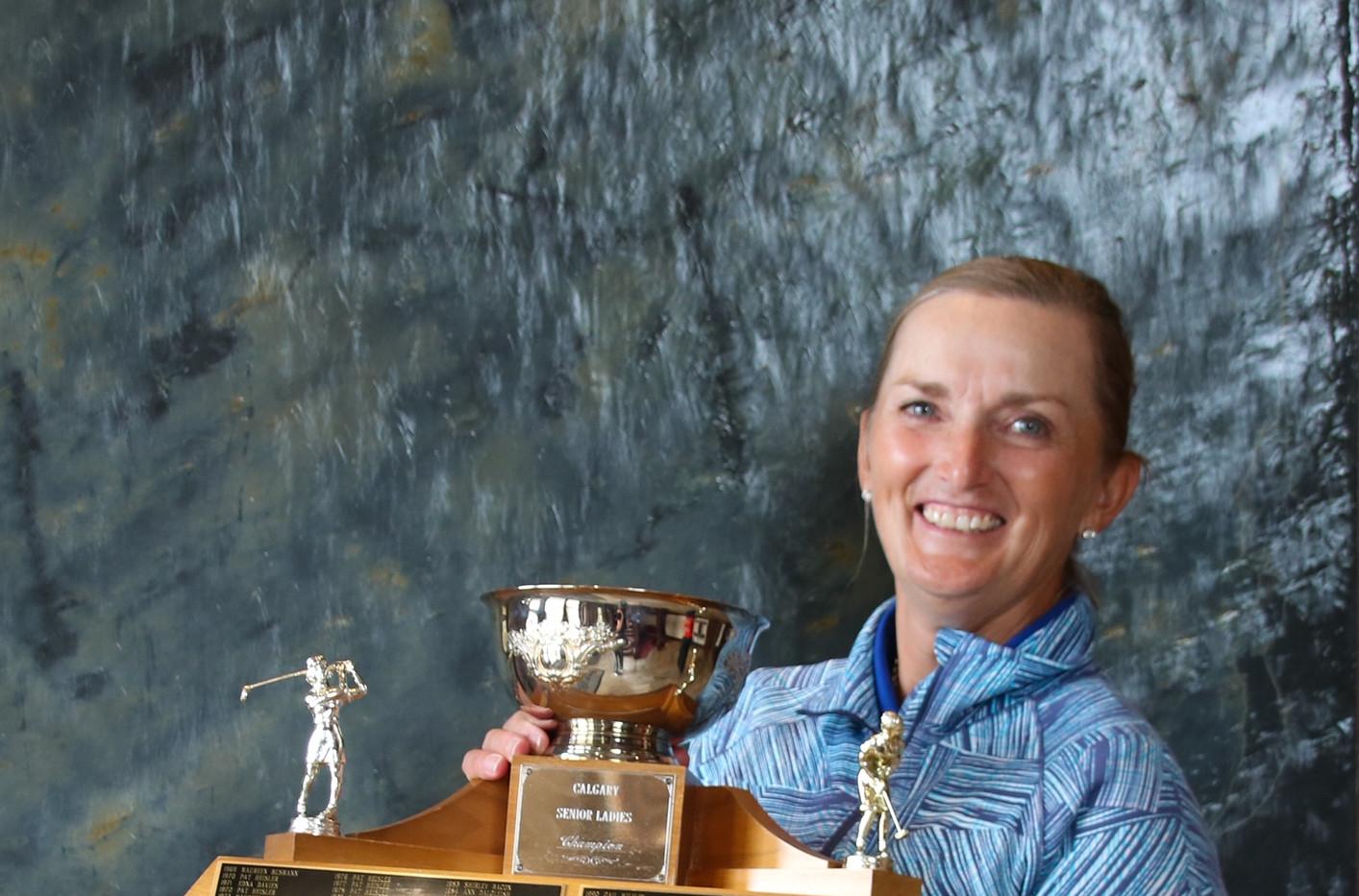 Champion Cheryl Newman