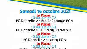 Match du week-end au Moulin.
