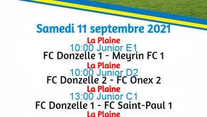 Match du week-end au Moulin