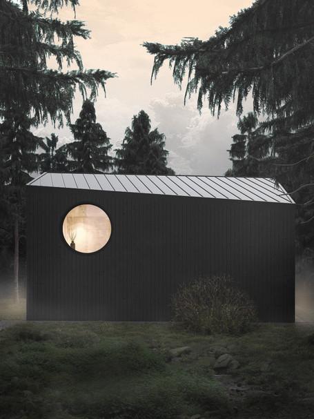 Erdei ház a Pilisben