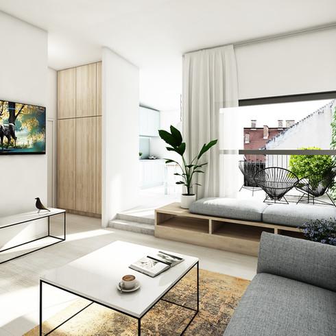 Tetőtéri lakás