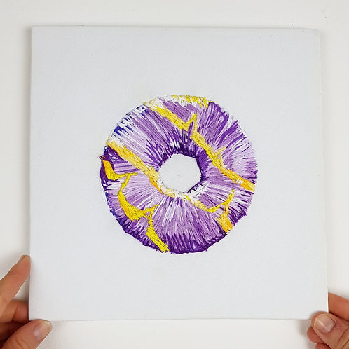 Purple and yellow Party Ring