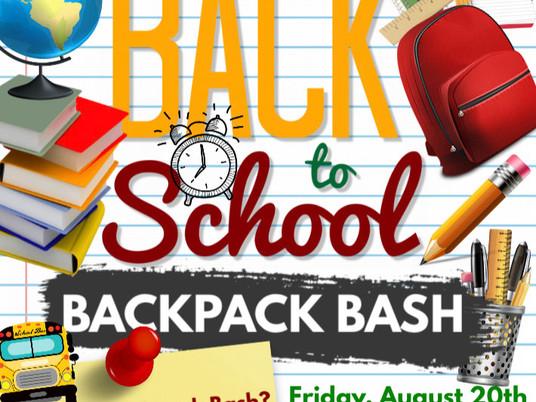 Backpack Bash!