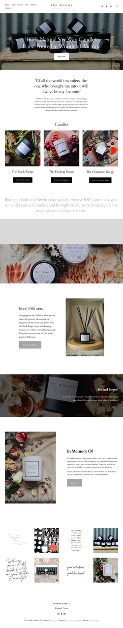 The Woods Candle Co
