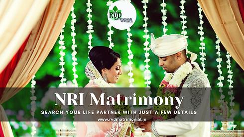 RVD Matrimonial Services - NRI Matrimony