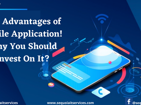 Key Advantages of Mobile Application! Why You Should Invest On It?