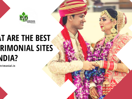 What are the best matrimonial sites in India?