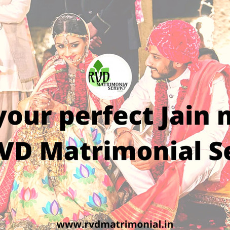 Find your perfect Jain match with RVD Matrimonial Services
