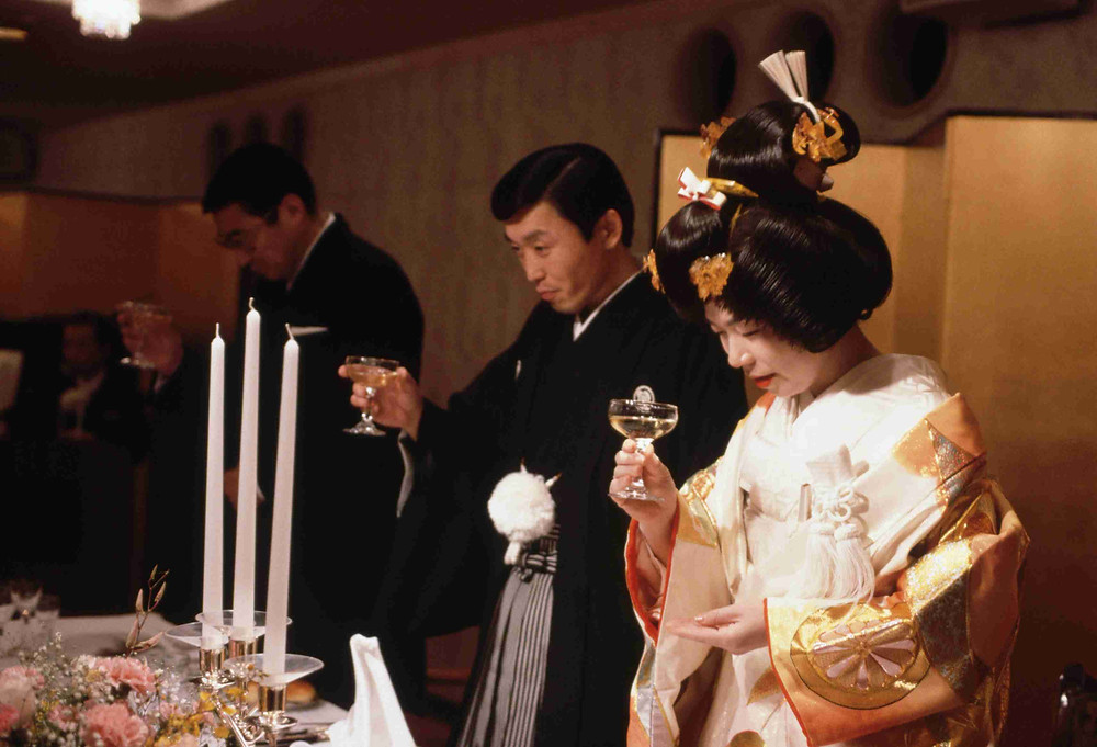 The Sake-Sharing Ceremony, Japan