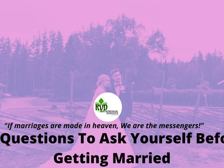 19 Questions To Ask Yourself Before Getting Married