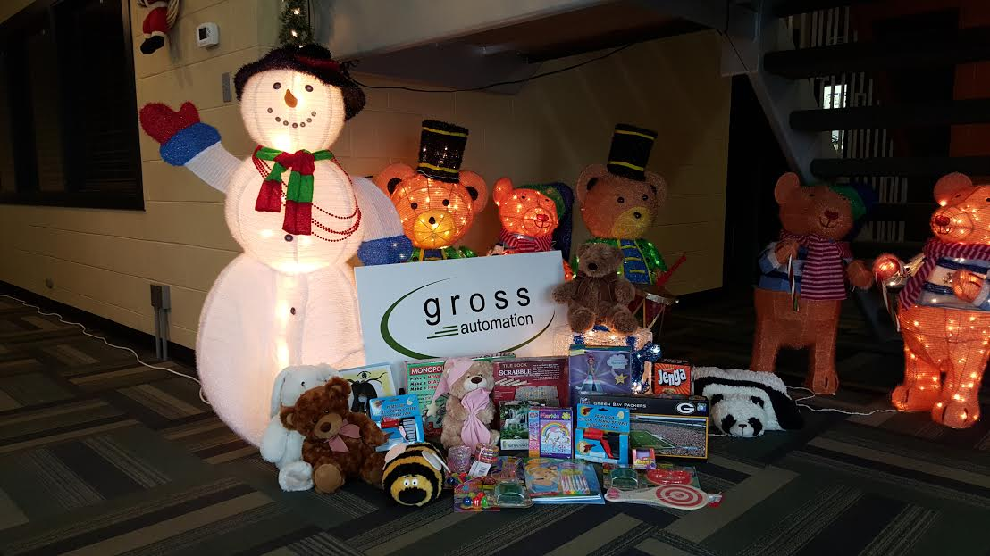 Gross Automation Toys for Tots