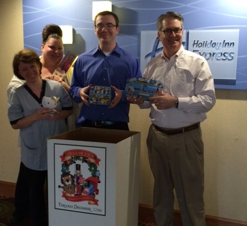 Holiday Inn Express - Toys for tots MKEEX 12.14.15