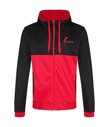 Navassa Retro Jacket Red-Black