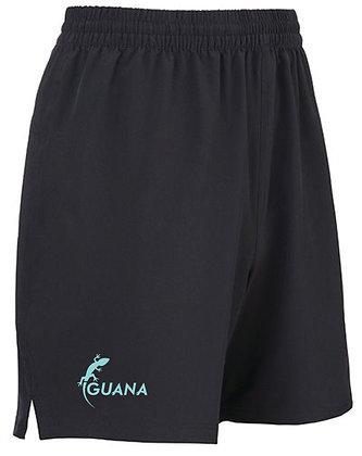 Leisure Shorts Black-Mint
