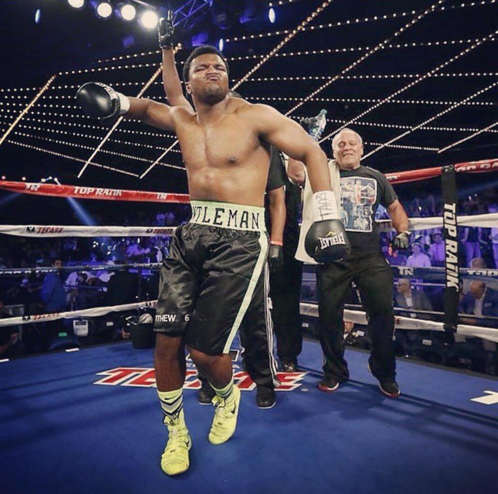Heavyweight prospect George Arias