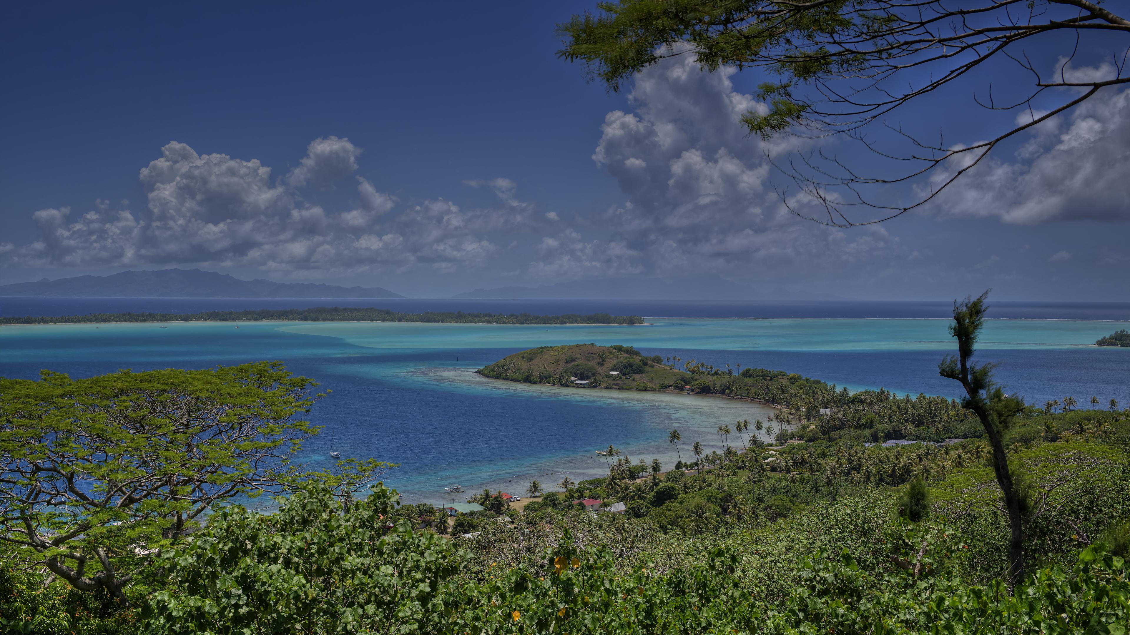 Bora Bora Coastline