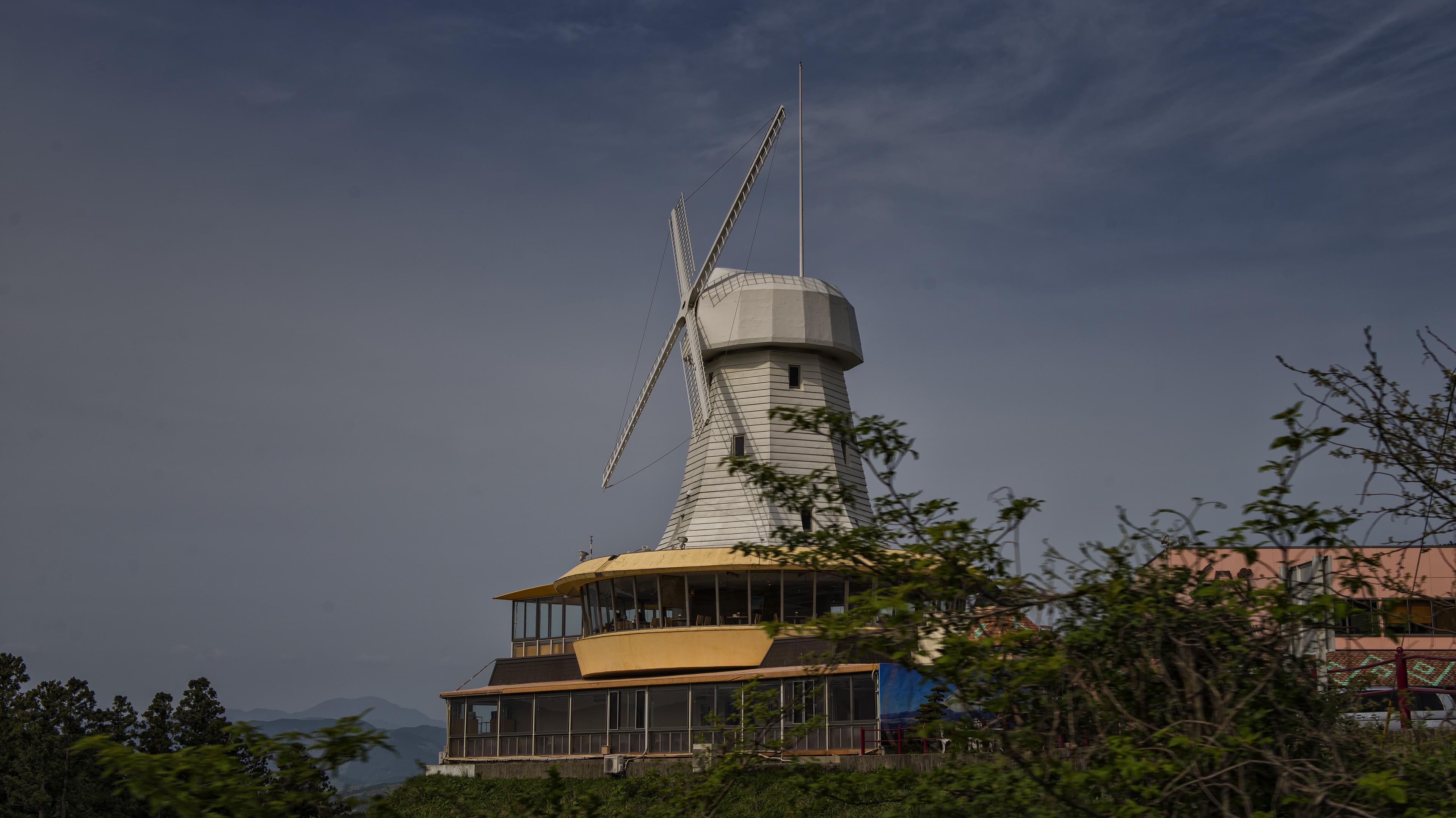 Wind Mill at Mt Fuji
