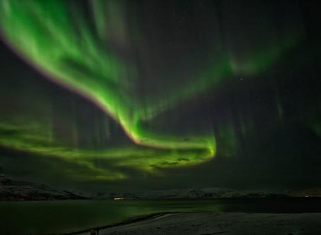 Aurora Borealis from Tromsø, Norway